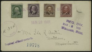 Sale Number 875, Lot Number 1231, Guam1899, 1c-6c Regular Issue (1, 3-4, 6), 1899, 1c-6c Regular Issue (1, 3-4, 6)