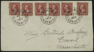 Sale Number 875, Lot Number 1235, Guam1899, 2c Red, Ty. IV (2), 1899, 2c Red, Ty. IV (2)
