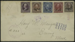 Sale Number 875, Lot Number 1237, Guam1899, 3c-8c Regular Issue (3-7), 1899, 3c-8c Regular Issue (3-7)