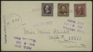 Sale Number 875, Lot Number 1238, Guam1899, 3c-6c Regular Issue (3, 4, 6), 1899, 3c-6c Regular Issue (3, 4, 6)