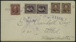 Sale Number 875, Lot Number 1239, Guam1899, 3c-6c Regular Issue (3, 4, 6), 1899, 3c-6c Regular Issue (3, 4, 6)