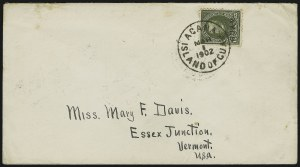 Sale Number 875, Lot Number 1246, Guam1899, 15c Olive Green (10), 1899, 15c Olive Green (10)