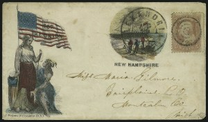 Sale Number 875, Lot Number 377, Magnus PatrioticsMagnus New Hampshire, Magnus New Hampshire