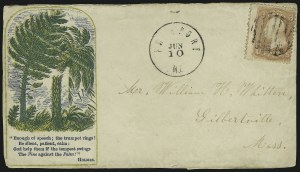 Sale Number 875, Lot Number 390, Civil War PatrioticsPine and Palm Trees, Pine and Palm Trees