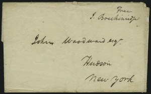 Sale Number 875, Lot Number 608, Famous AmericansJames Breckinridge, James Breckinridge