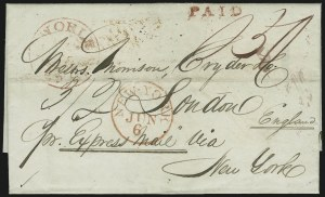 Sale Number 875, Lot Number 684, Express MailsNew Orleans La. May 28, New Orleans La. May 28