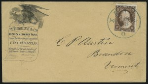 Sale Number 875, Lot Number 786, 3c 1851 Issue3c Brownish Carmine (11 var), 3c Brownish Carmine (11 var)