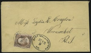 Sale Number 875, Lot Number 792, 3c 1851 Issue3c Dull Red (11), 3c Dull Red (11)