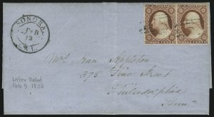 Sale Number 875, Lot Number 794, 3c 1851 Issue3c Dull Red (11), 3c Dull Red (11)