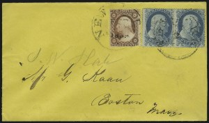 Sale Number 875, Lot Number 804, 1c 1857-60 Issue1c Blue, Ty. I (18), 1c Blue, Ty. I (18)