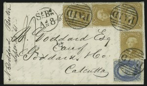 Sale Number 875, Lot Number 855, 1861-66 Issue (Scott 67 to 70)5c Buff (67), 5c Buff (67)