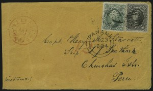 Sale Number 875, Lot Number 862, 1861-66 Issue (Scott 67 to 70)10c Yellow Green, 12c Black (68, 69), 10c Yellow Green, 12c Black (68, 69)