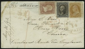 Sale Number 875, Lot Number 865, 1861-66 Issue (Scott 71 to 78)30c Orange (71), 30c Orange (71)