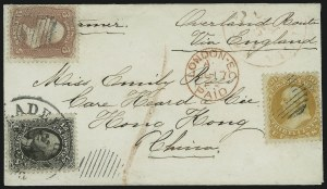 Sale Number 875, Lot Number 866, 1861-66 Issue (Scott 71 to 78)30c Orange (71), 30c Orange (71)