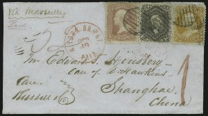Sale Number 875, Lot Number 872, 1861-66 Issue (Scott 71 to 78)30c Orange (71), 30c Orange (71)