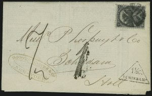 Sale Number 875, Lot Number 881, 1861-66 Issue (Scott 71 to 78)2c Black (73), 2c Black (73)