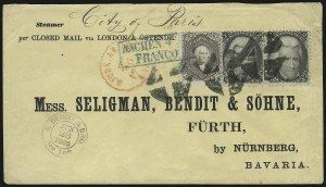 Sale Number 875, Lot Number 884, 1861-66 Issue (Scott 71 to 78)24c Lilac (78), 24c Lilac (78)