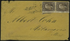 Sale Number 875, Lot Number 887, 1861-66 Issue (Scott 71 to 78)5c Brown (76), 5c Brown (76)