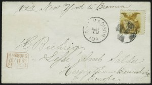 Sale Number 875, Lot Number 906, 1869 Pictorial Issue (10c)10c Yellow (116), 10c Yellow (116)