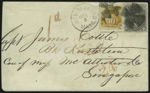 Sale Number 875, Lot Number 910, 1869 Pictorial Issue (10c)10c Yellow (116), 10c Yellow (116)