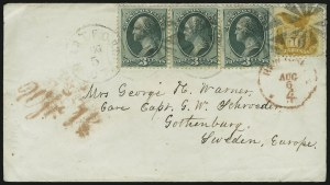 Sale Number 875, Lot Number 911, 1869 Pictorial Issue (10c)10c Yellow (116), 10c Yellow (116)
