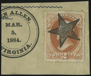 Sale Number 875, Lot Number 946, Classic Precancellations (Glen Allen Virginia)2c Vermilion (183), 2c Vermilion (183)