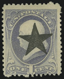 Sale Number 875, Lot Number 949, Classic Precancellations (Glen Allen Virginia)1c Dark Ultramarine (182), 1c Dark Ultramarine (182)