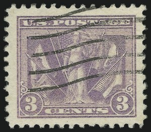 Sale Number 881, Lot Number 1269, 1918-20 Issue (Scott 523 to 550)3c Light Reddish Violet (537b), 3c Light Reddish Violet (537b)