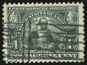 Sale Number 881, Lot Number 940, Louisiana Purchase, Jamestown Issues1c Jamestown (328), 1c Jamestown (328)