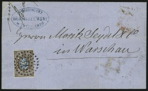 Sale Number 885, Lot Number 2152, Stamped Mail by Country1858, 10k Brown & Blue (2), 1858, 10k Brown & Blue (2)