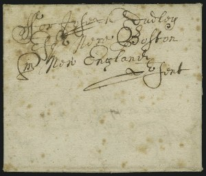 "Sale Number 886, Lot Number 3001, Colonial Period(Delaware/Pennsylvania) ""From Harrington, April 18th, 1687"", (Delaware/Pennsylvania) ""From Harrington, April 18th, 1687"""
