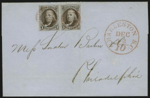 Sale Number 886, Lot Number 3039, 1847 Issue5c Red Brown (1), 5c Red Brown (1)