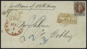 Sale Number 886, Lot Number 3041, 1847 Issue5c Red Brown (1), 5c Red Brown (1)