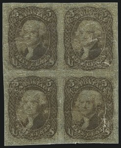 Sale Number 890, Lot Number 199, 1861 Issue 5c Brown, Lowenberg Decalcomania, Plate Proof (76TC), 5c Brown, Lowenberg Decalcomania, Plate Proof (76TC)