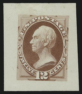 Sale Number 890, Lot Number 435, 1870 Issue 12c Clay, Die Essay on India (151-E9a), 12c Clay, Die Essay on India (151-E9a)
