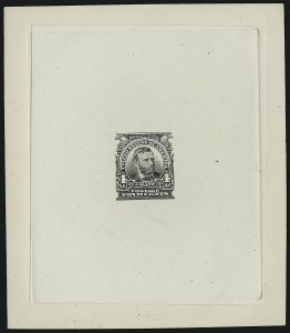 Sale Number 890, Lot Number 554, 1902-03 Issue4c Black, Large Die Essay on India (303-E1), 4c Black, Large Die Essay on India (303-E1)