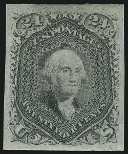 Sale Number 900, Lot Number 252, 1861-66 Issue (National Bank Note Co.)24c Grayish Lilac, Francis Patent Essay (70-E), 24c Grayish Lilac, Francis Patent Essay (70-E)