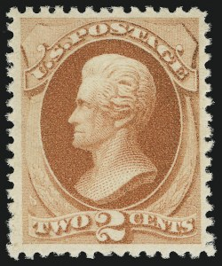 Sale Number 904, Lot Number 151, 1870-88 Bank Note Issues (Scott 179-218)2c Vermilion (183). Mint N.H, 2c Vermilion (183). Mint N.H