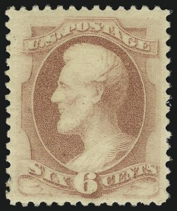 Sale Number 904, Lot Number 153, 1870-88 Bank Note Issues (Scott 179-218)6c Pink (186), 6c Pink (186)