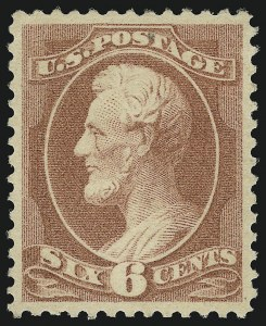Sale Number 904, Lot Number 171, 1870-88 Bank Note Issues (Scott 179-218)6c Rose (208), 6c Rose (208)