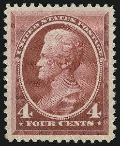 Sale Number 904, Lot Number 178, 1870-88 Bank Note Issues (Scott 179-218)4c Carmine (215), 4c Carmine (215)