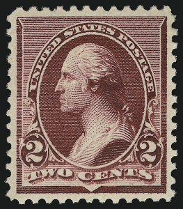 Sale Number 904, Lot Number 186, 1890-93 Issue2c Lake (219D), 2c Lake (219D)