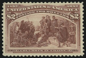 Sale Number 904, Lot Number 227, 1893 Columbian Issue$2.00 Columbian (242), $2.00 Columbian (242)