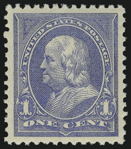 Sale Number 904, Lot Number 236, 1894-98 Bureau Issues1c Ultramarine (246), 1c Ultramarine (246)