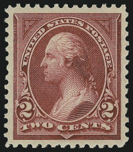 Sale Number 904, Lot Number 239, 1894-98 Bureau Issues2c Carmine Lake, Ty. I (249), 2c Carmine Lake, Ty. I (249)