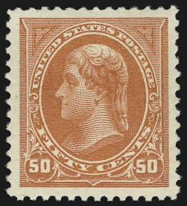 Sale Number 904, Lot Number 250, 1894-98 Bureau Issues50c Orange (260), 50c Orange (260)