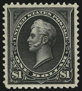 Sale Number 904, Lot Number 252, 1894-98 Bureau Issues$1.00 Black, Ty. II (261A), $1.00 Black, Ty. II (261A)