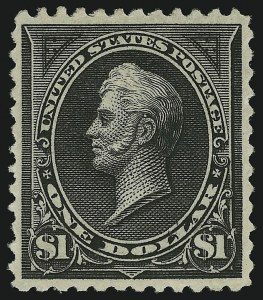Sale Number 904, Lot Number 253, 1894-98 Bureau Issues$1.00 Black, Ty. II (261A), $1.00 Black, Ty. II (261A)