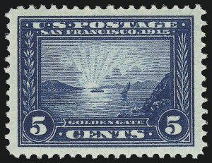 Sale Number 904, Lot Number 383, Panama-Pacific Issue5c Panama-Pacific (399), 5c Panama-Pacific (399)