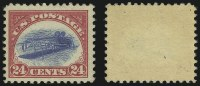 Sale Number 904, Lot Number 499, 24c Carmine Rose & Blue, Center Inverted (C3a)
